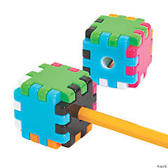 Cube Puzzle Pencil Sharpeners