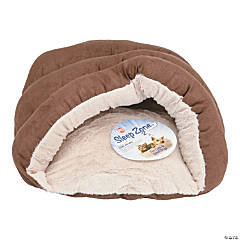 """Cuddle Cave For Cats 22""""X17""""X10""""-Chocolate"""