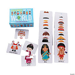 Cultures of the World Matching Puzzles