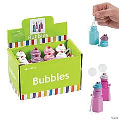 Cupcake Bubble Bottles