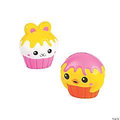 Cupcake Bunny & Chick Squishies
