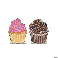 Cupcake Cardboard Stand-Ups