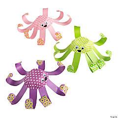 Cupcake Liner Octopus Craft Kit