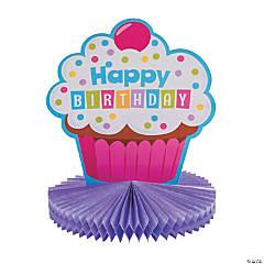 Cupcake Sprinkles Centerpiece