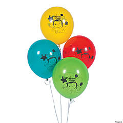 "Curious George® 12"" Latex Balloons"