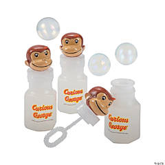 Curious George<sup>®</sup> Bubble Bottles