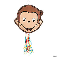 Curious George® Drum Pull-String Piñata