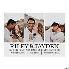 Custom Photo Classic Save the Date Cards