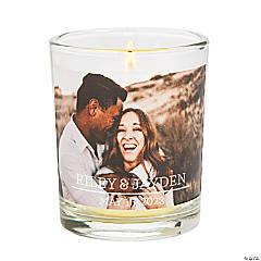 Custom Photo Votive Candle Holders
