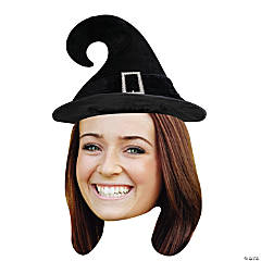 Custom Photo Witch Hat Big Head Cutout