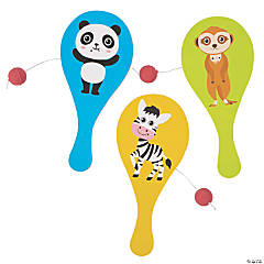 Cute Animals Paddle Ball Games
