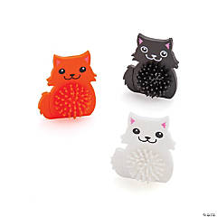 Cute Cat Porcupine Characters