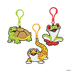 Cute Critters Backpack Clip Keychains