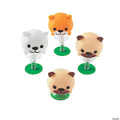 Cute Dog Pop-Up Toys
