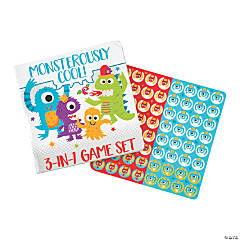 Cute Monster 3-In-1 Game Sets