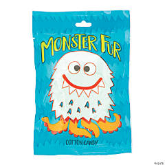 Cute Monster Fur Cotton Candy Packs