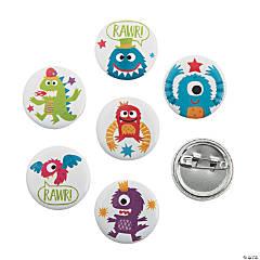 Cute Monster Mini Buttons