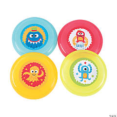 Cute Monster Mini Flying Discs