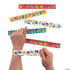 Cute Monster Slap Bracelets