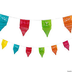 Cutout Fiesta Banner with Fringe