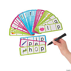 CVC Dry Erase Card Set