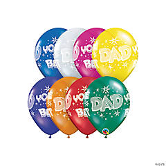 Dad You're the Best Latex Balloons