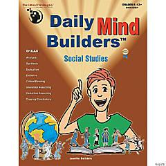 Daily Mind Builders Social Studies Book, Grade 5-12