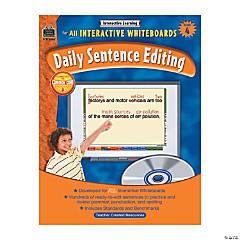 Daily Sentence Editing Grade 4