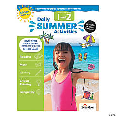 Daily Summer Activities - Moving from 1st Grade to 2nd Grade Activity Book