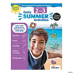 Daily Summer Activities - Moving from 2nd Grade to 3rd Grade Activity Book