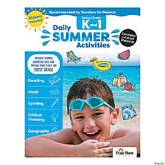 Daily Summer Activities - Moving from Kindergarten to 1st Grade Activity Book