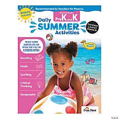 Daily Summer Activities - Moving from PreK to Kindergarten Activity Book
