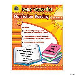 Daily Warm-Ups: Nonfiction Reading - Grade 3