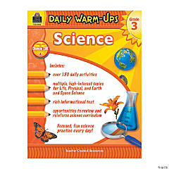 Daily Warm-Ups: Science - Grade 3