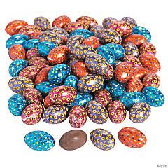 Daisy & Swirl Chocolate Easter Eggs