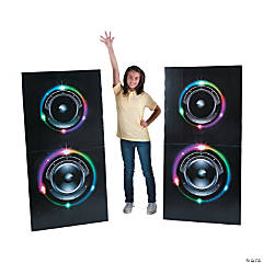 Dance Party Speaker Stand-Ups