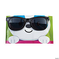 Dancing Animal Sunglasses with Valentine's Day Card