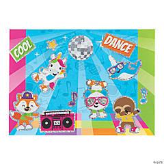 Dancing Animals Mini Sticker Scenes