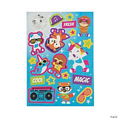 Dancing Animals Sticker Sheets