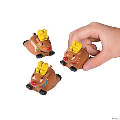 Dashing Reindeer Pull-Back Toys