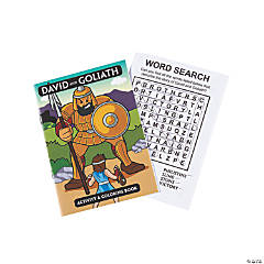 David & Goliath Activity Books