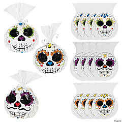 Day of the Dead Cellophane Bags