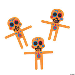 Day of the Dead Halloween Bendables