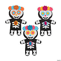 Day of the Dead Magnet Craft Kit