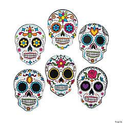 Day of the Dead Mini Skull Cutouts