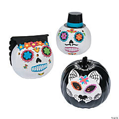Day of the Dead Pumpkin Decorating Kit