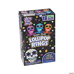 Day of the Dead Ring Lollipops