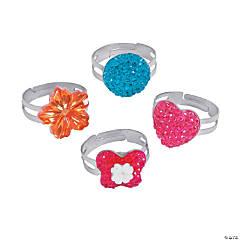 Dazzling Stone Rings