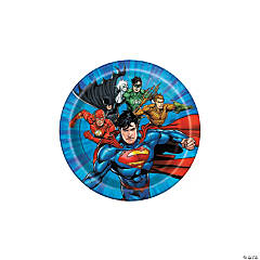 DC Comics Justice League™ Paper Dessert Plates - 8 Ct.