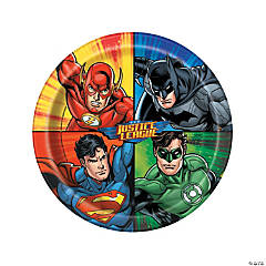 DC Comics Justice League™ Paper Dinner Plates - 8 Ct.